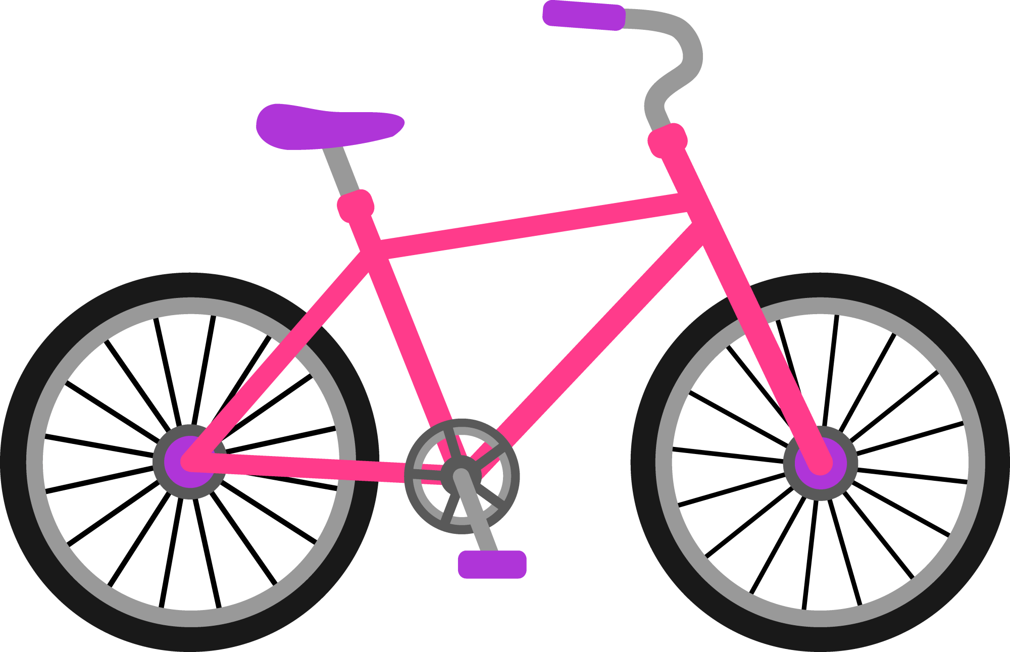 hight resolution of bicycle clip art