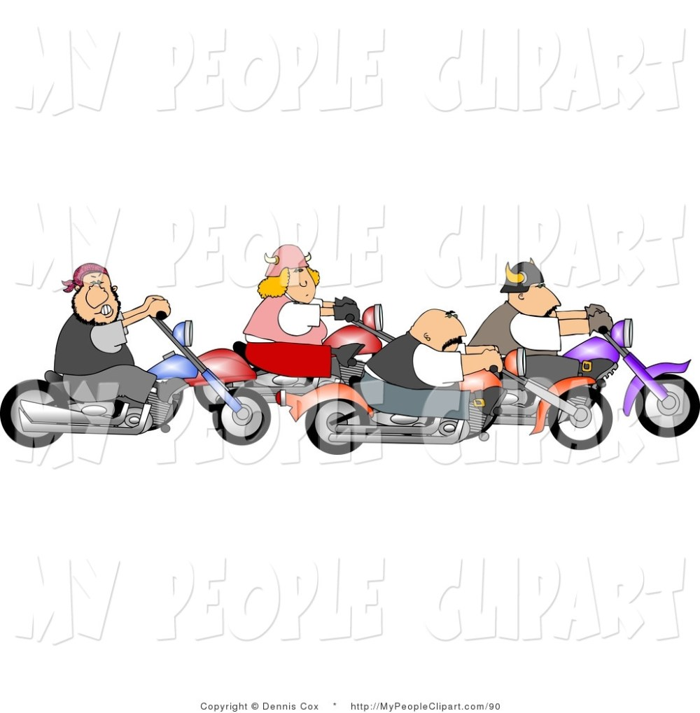 medium resolution of biker clipart