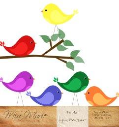 bird clipart [ 1500 x 1500 Pixel ]