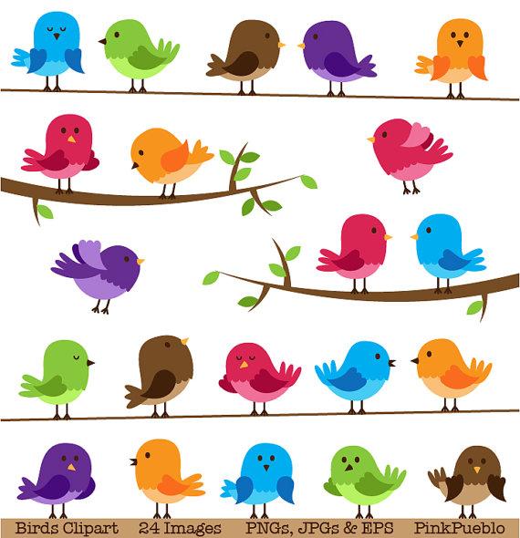 bird clip art free printable