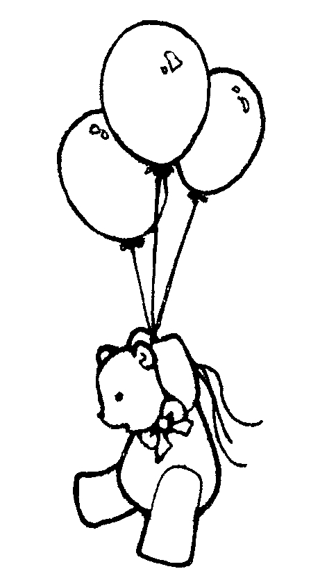 birthday balloons clip art black