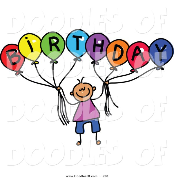adult birthday party clip art