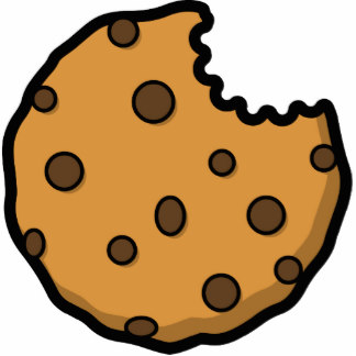 bitten cookie cartoon clipart