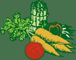 border clipart clip vegetable vegetables fruits clipartpanda fruit garden salad veggies terms vector websites reports projects these lettuce