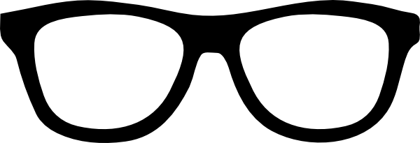 glasses cartoon sunglasses nerd shades clip animated clipart rayban thick characters vector ray tapdance
