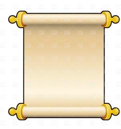 blank scroll clip art [ 1200 x 1200 Pixel ]