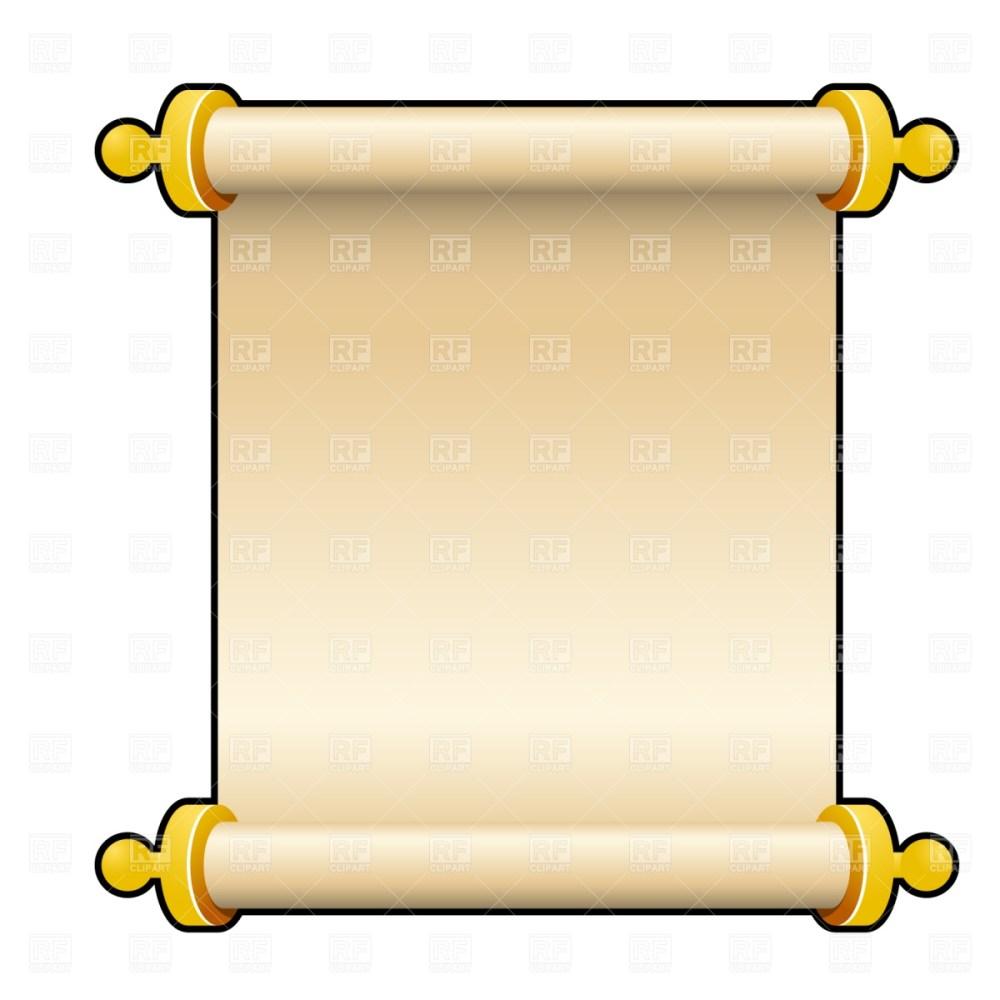 medium resolution of blank scroll clip art