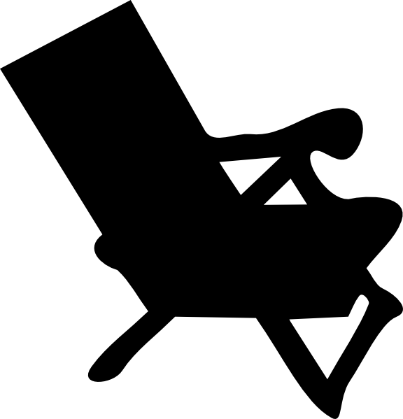 beach chair and umbrella clipart high top table 4 chairs panda free images blink