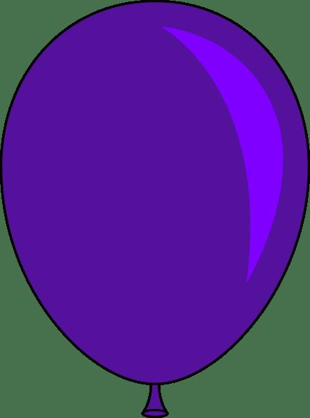blue balloon clipart