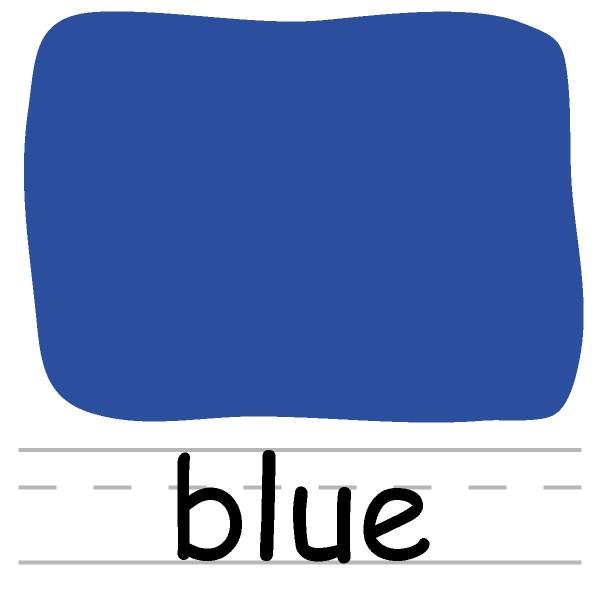 Color Blue Clip Art