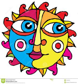 drawing sun simple eye hand drawings illustration draw clipart sunshine clipartpanda dreamstime face designs sketches vivid moon hippie cheeks nose