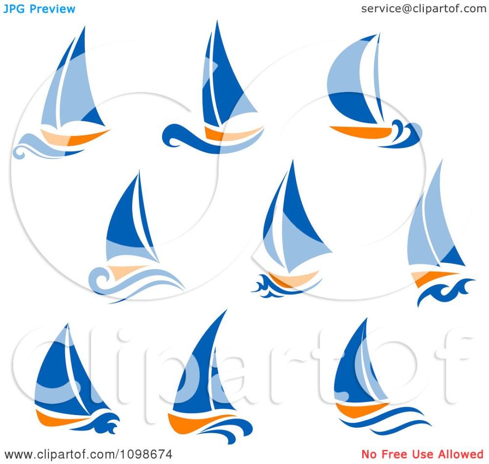 medium resolution of blue sailboat clipart