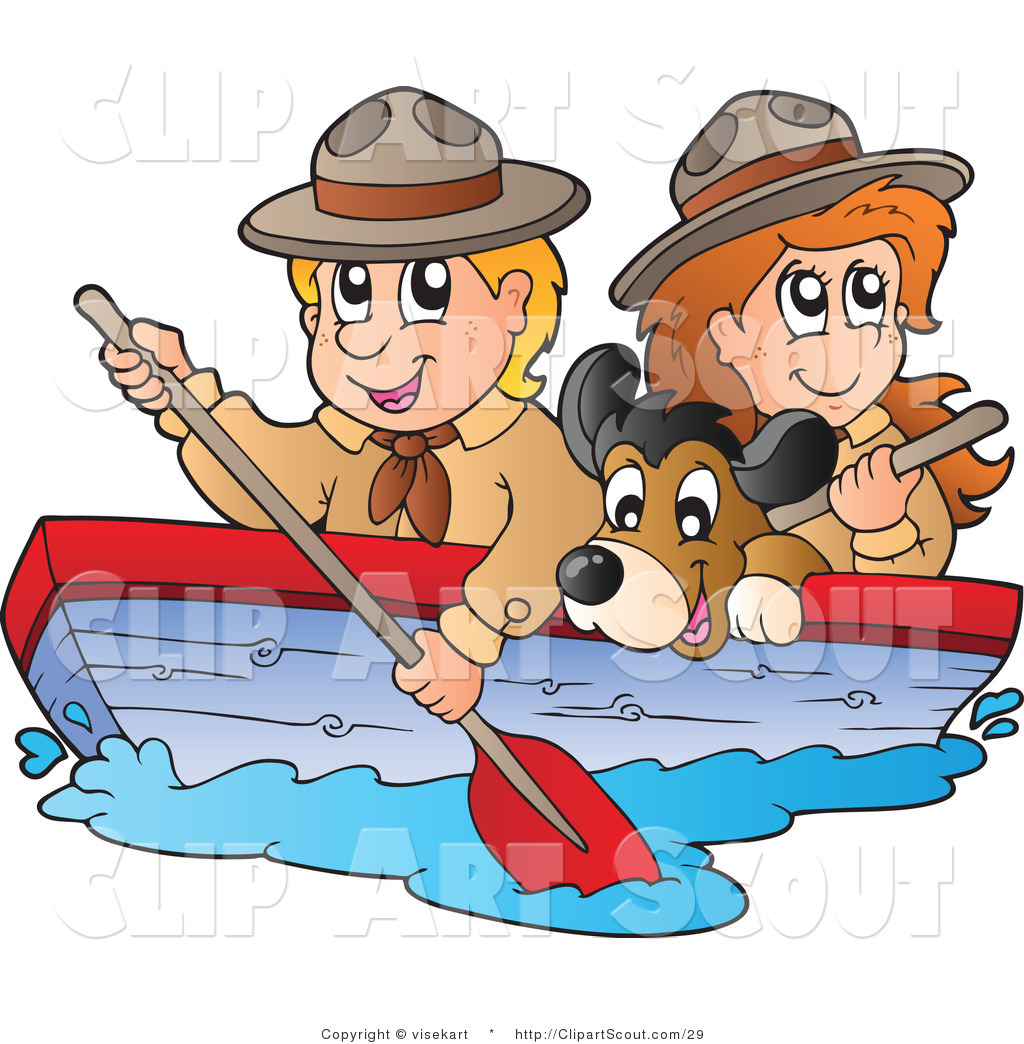 hight resolution of boating clipart