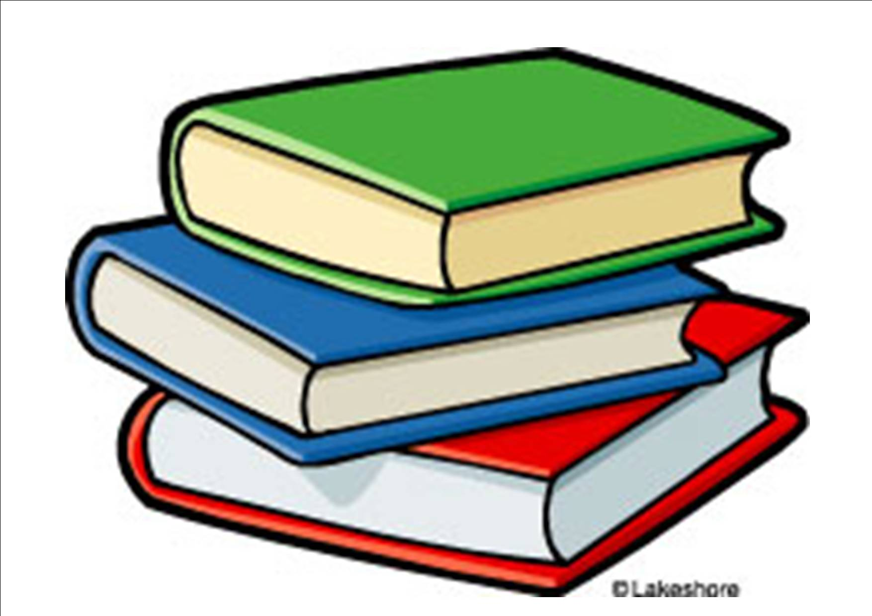 hight resolution of books clipart