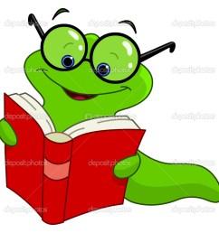 book worm clip art [ 1023 x 1000 Pixel ]