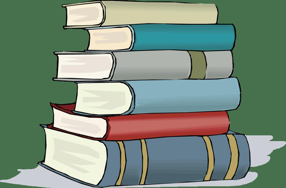 medium resolution of books clip art