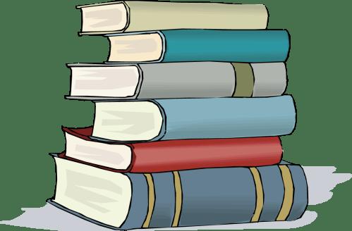 small resolution of books clip art