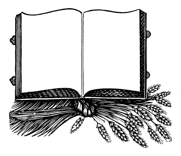 Open Book Borders and Frames