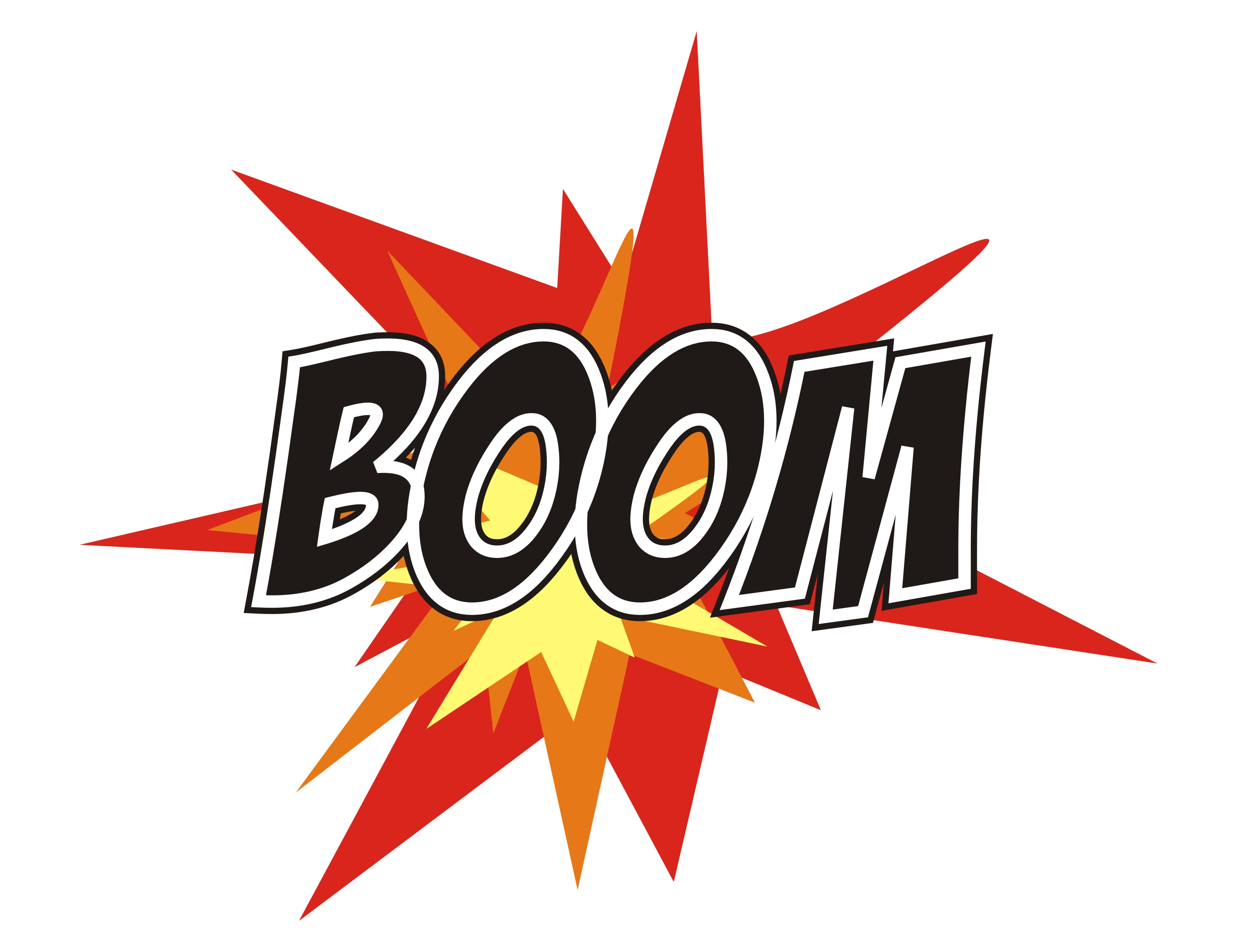 Boom Clipart  Clipart Panda  Free Clipart Images