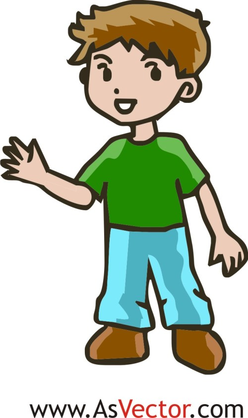 small resolution of boy clipart
