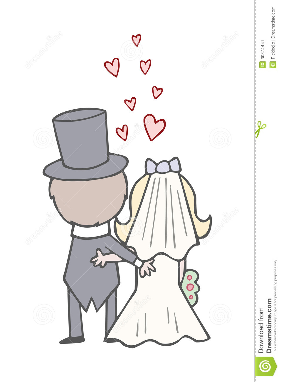 hight resolution of bride clipart bride and groom clip art