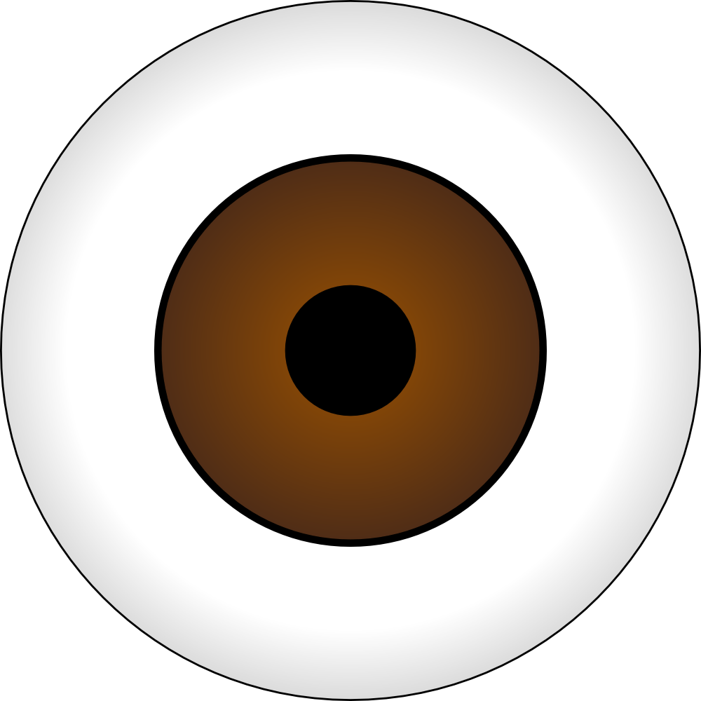 hight resolution of brown eye clipart