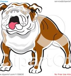bulldog clip art [ 1080 x 1024 Pixel ]