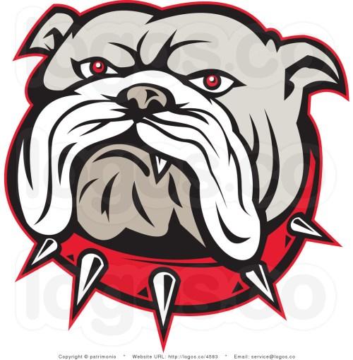 small resolution of bulldog clip art
