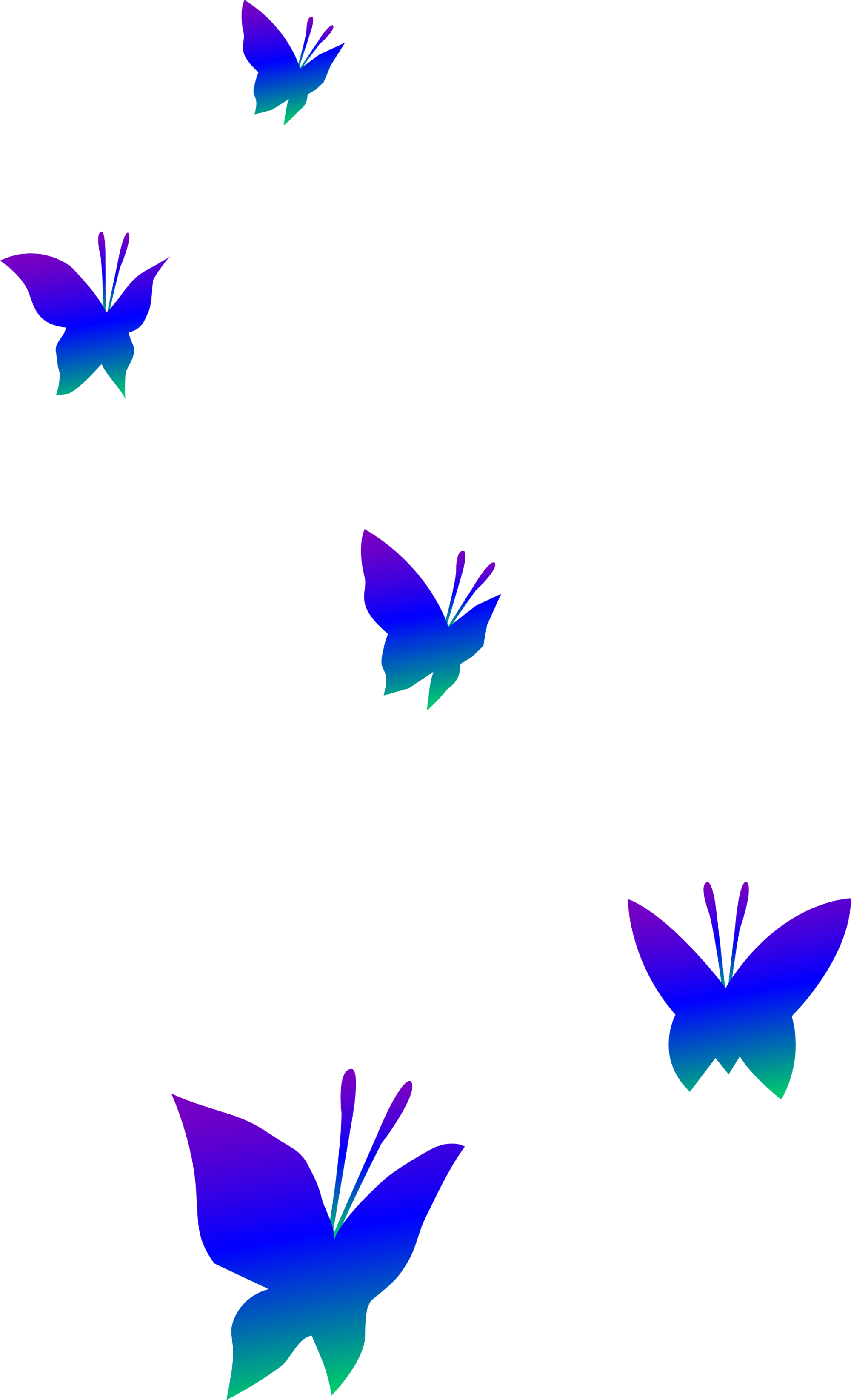 hight resolution of butterflies clipart