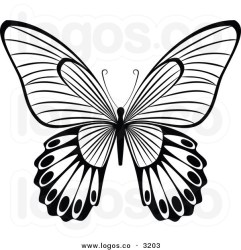 butterfly clip clipart flying vector butterflies royalty graphics drawing round outline silhouettes tattoos clipground panda quilling tattoo clipartmag