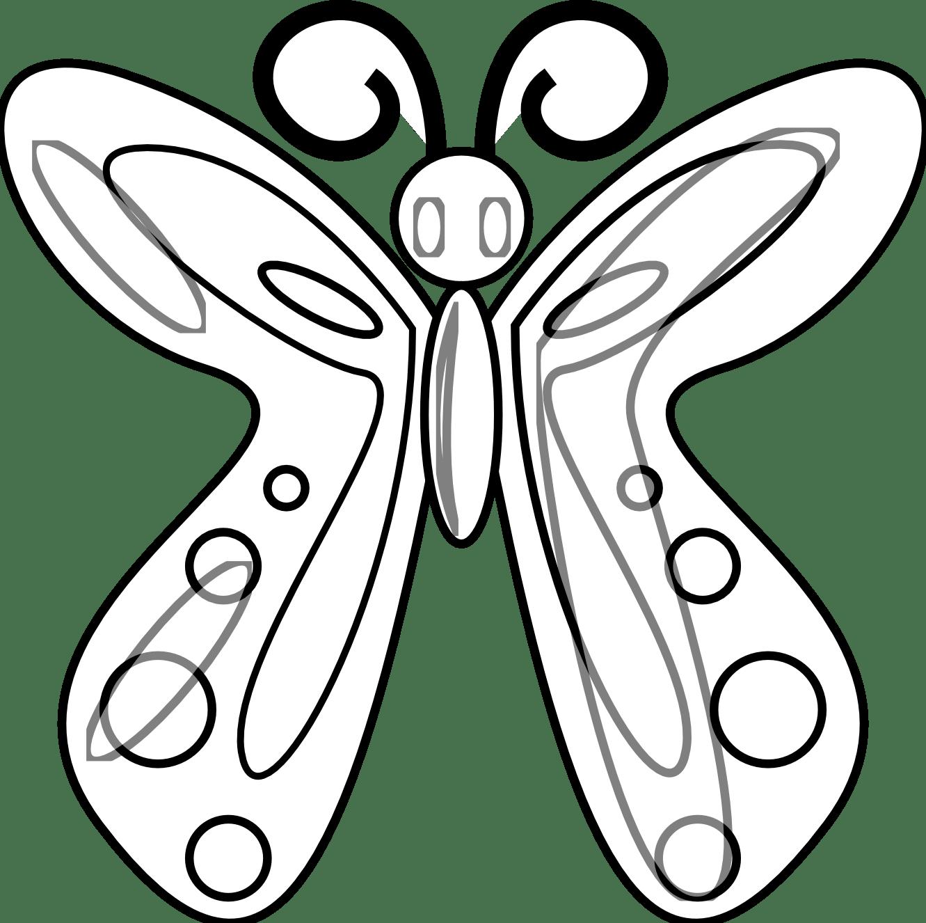 Butterfly Net Drawing Clipart Panda