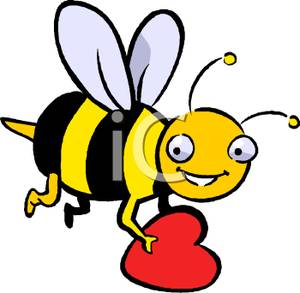 Buzzing Bee Clipart  Clipart Panda  Free Clipart Images