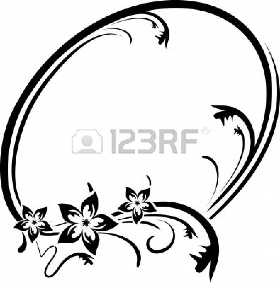 Elegant Cadre Ovale Clipart Clipart Panda