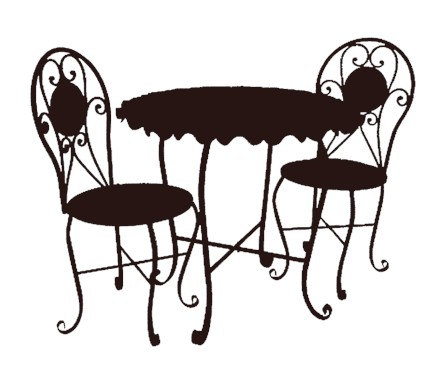 chaise lawn chair office ball cushion cafe building clipart   panda - free images