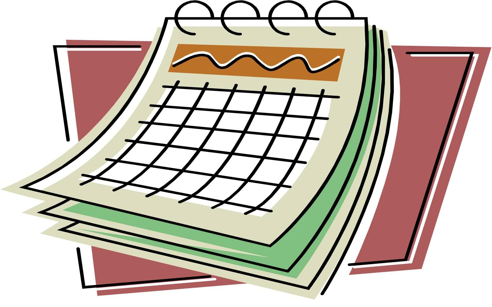 hight resolution of calendar clipart