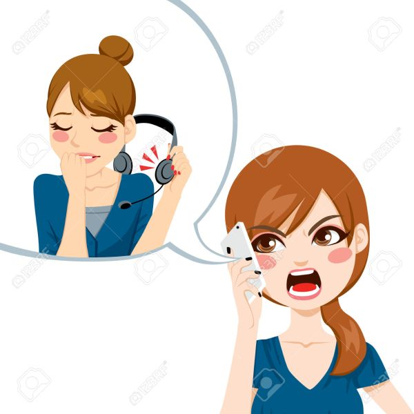 Call Center Customer Service Clip Art