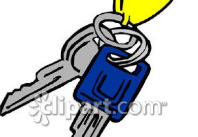 Car Keys Clip Art