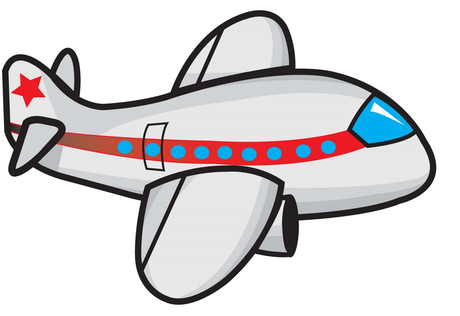 hight resolution of cartoon airplane clipart