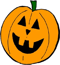 carved pumpkin clipart