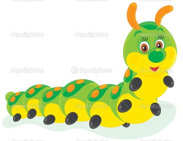 caterpillar clipart panda