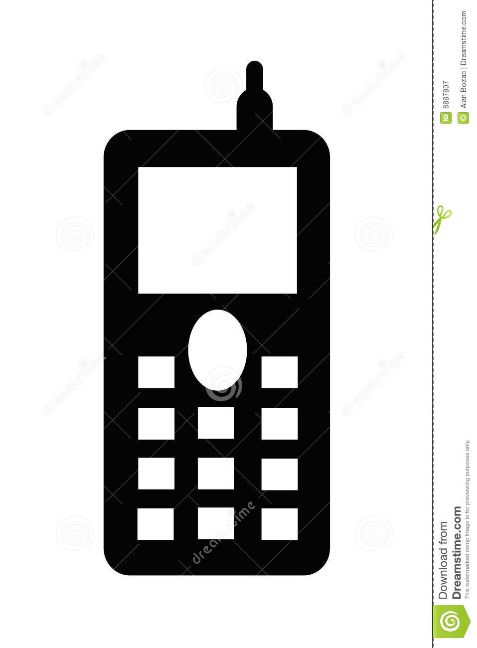 hight resolution of cell phone clip art