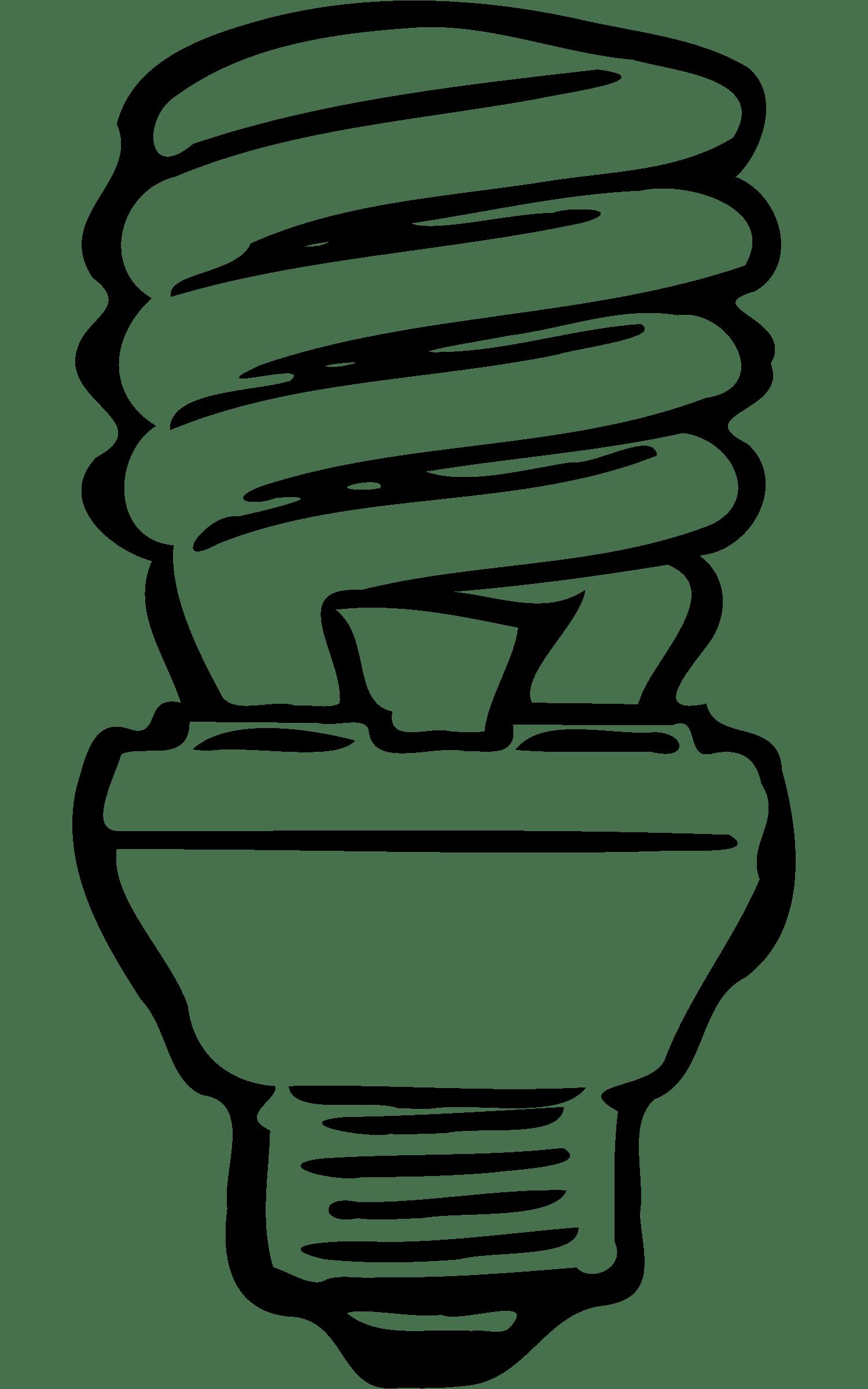 Cfl Light Bulb Clip Art Clipart Panda