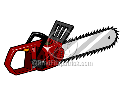 chainsaw clipart panda