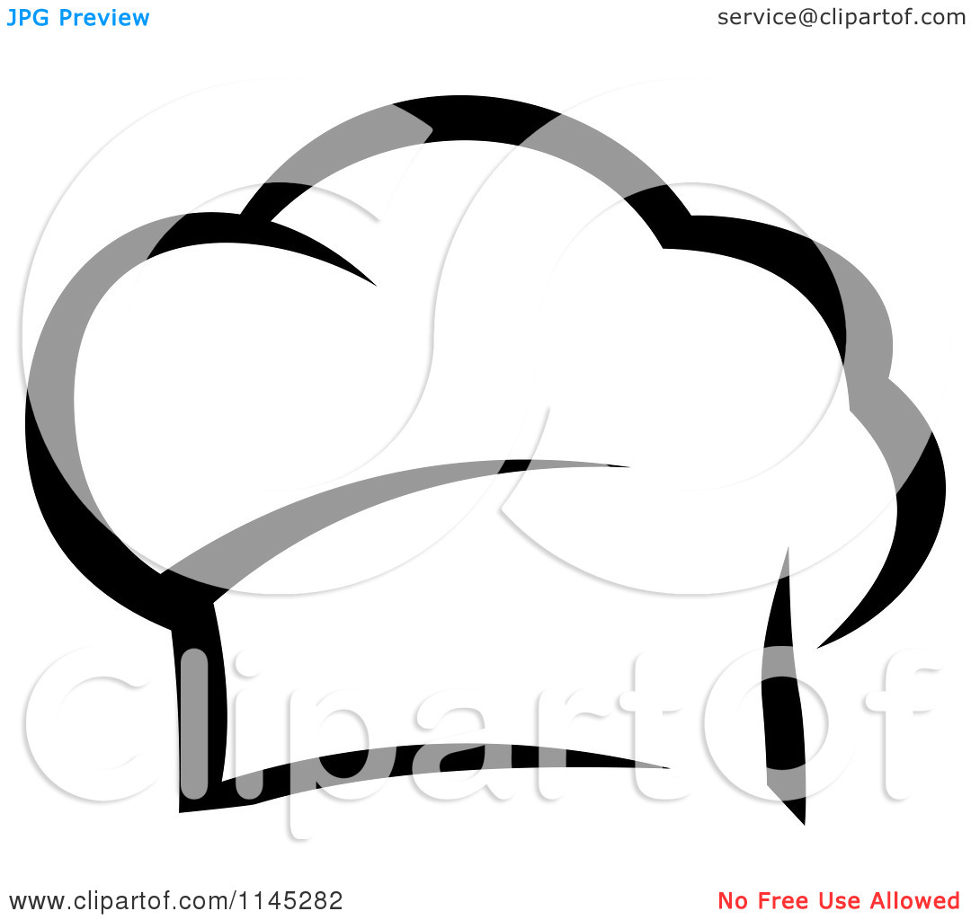 Chef Hat Clipart Black And White Clipart Panda