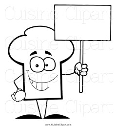 chef hat clipart black and white this chef hat stock cuisine [ 1024 x 1044 Pixel ]