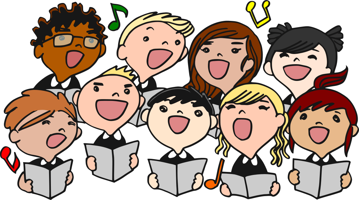 hight resolution of choir clipart