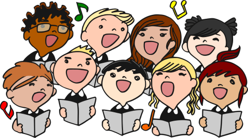 small resolution of choir clipart