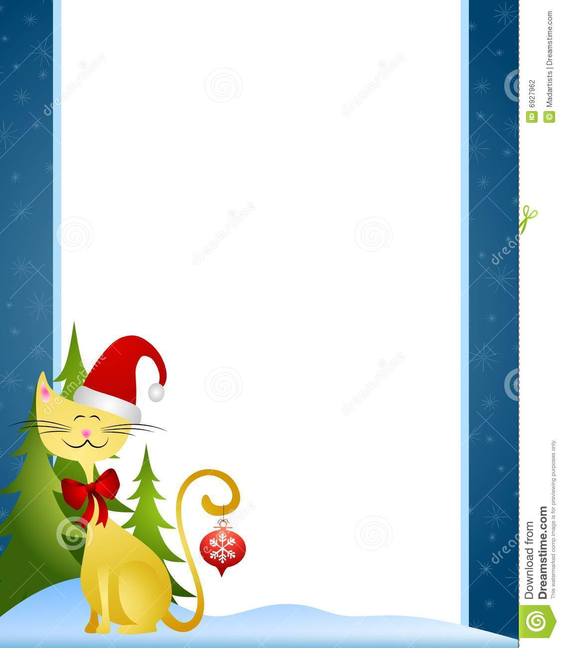 hight resolution of christmas border clipart