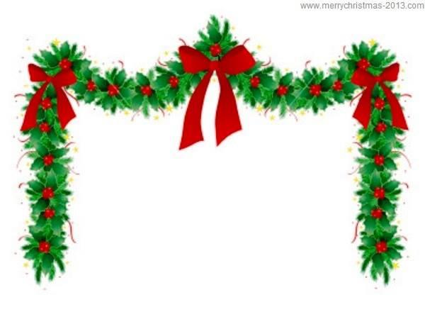 christmas clip art borders free