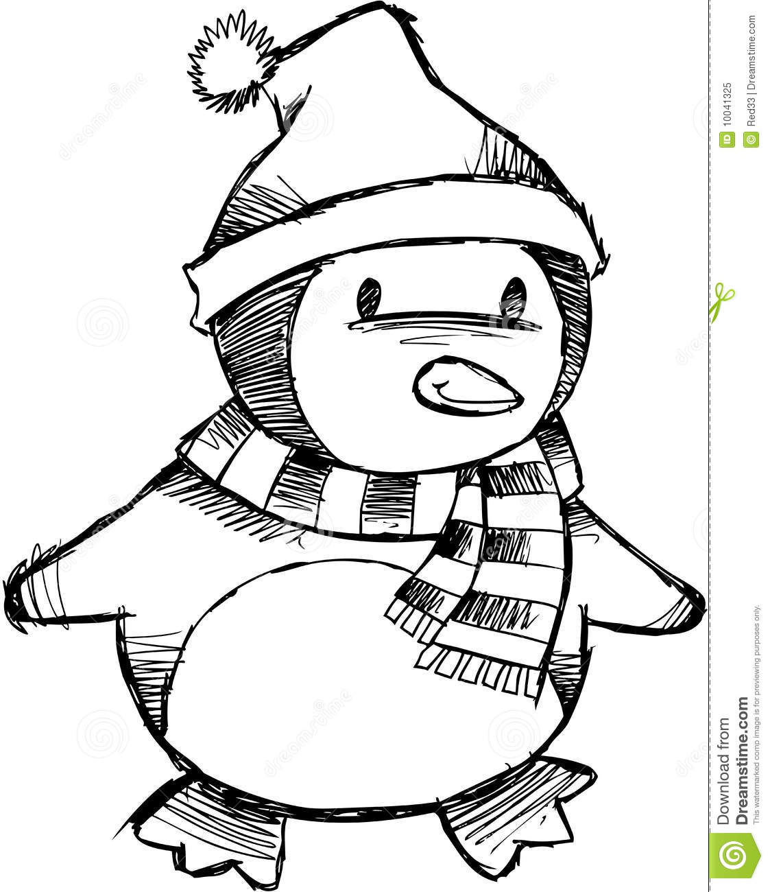 Penguin Clip Art Coloring Pages Coloring Pages